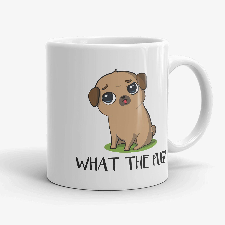 Pug Coffee Mug Pug Ceramic Mug pug Mug Dog Mug Pug Lover Gift Pug Crazy Mug Pug