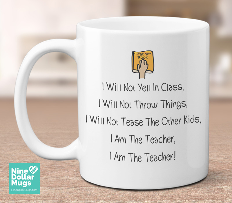 Funny Teacher Coffee Mug Gift For Mother S Day School