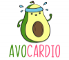 Avocardio - Funny Running Avocado Gift for Runner Travel Mug - Photo 2