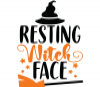Resting Witch Face - Funny Halloween Mug - Photo 3