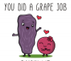 You Did A Grape Job Raisin Me Mother's Day gift, mom mug - Photo 1
