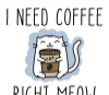 I Need Coffee Right Meow - Cute Cat Mug for a Cat Lover - Photo 1